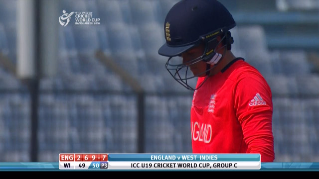 Curran Wicket – ENG v WI