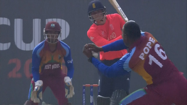 England Innings Wickets – ENG v WI