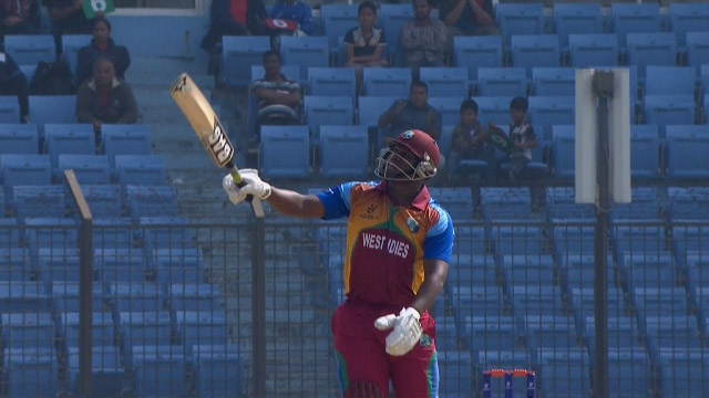 Pope smashes back to back Sixes! – ENG v WI
