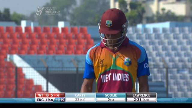 Carty Wicket – ENG v WI