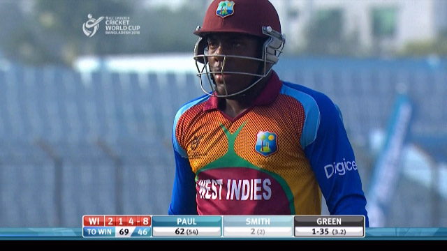 Smith Wicket – ENG v WI