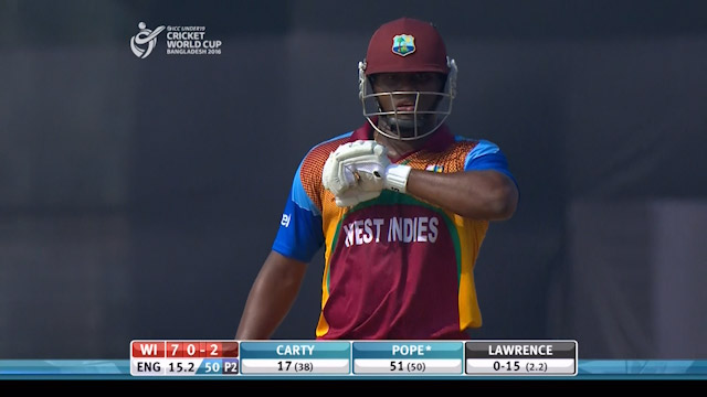 West Indies Innings Highlights v England