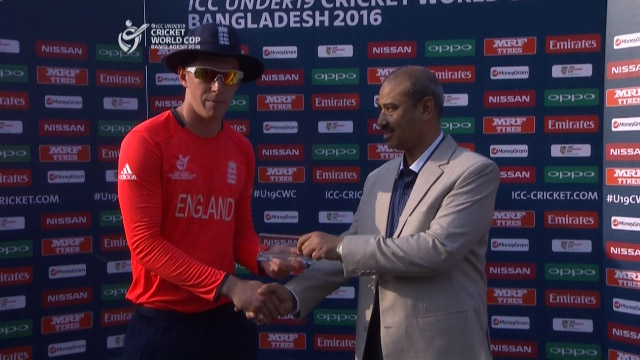 Man of the Match – Lawrence – ENG v WI