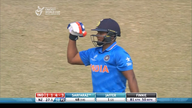 India Innings Highlights v New Zealand