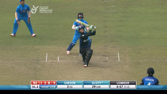 Scott Wicket – IND v NZ
