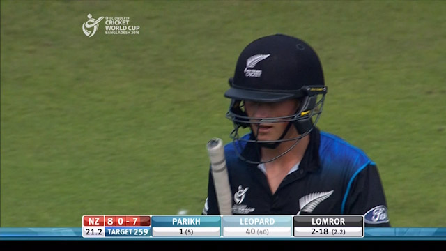 Leopard Wicket – IND v NZ