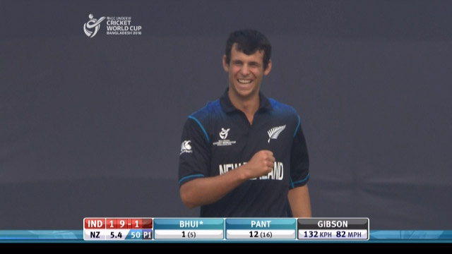 Gibson, 3-50 vs India – IND v NZ