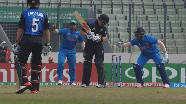 Zeeshan Ansari bamboozles Phillips with googly – IND v NZ