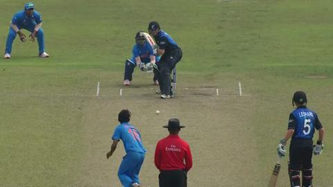 D Phillips Wicket – IND v NZ