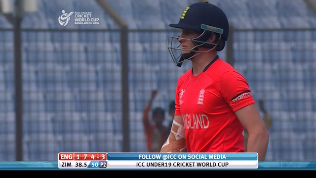 C Taylor Wicket – ENG v ZIM