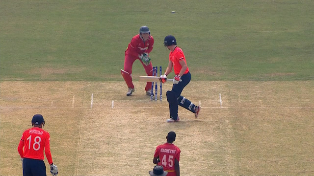 England Innings Wickets – ENG v ZIM