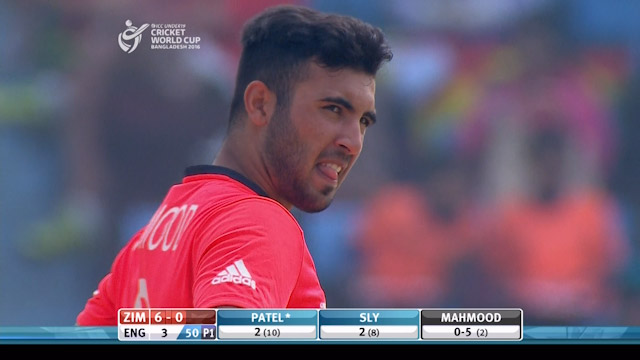 High quality over from Mahmood – ENG v ZIM