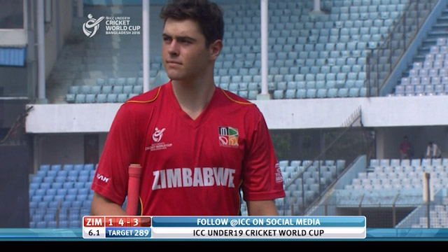 Murray Wicket – ENG v ZIM