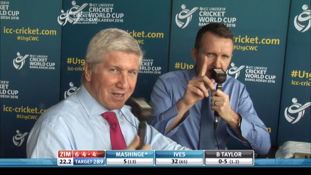 Cork and Wilkins discuss 'Cork's Final' – ENG v ZIM