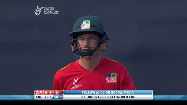 Keefe Wicket – ENG v ZIM
