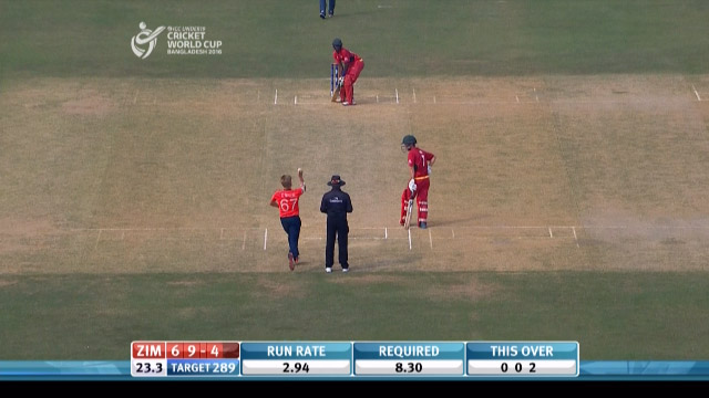 Taylor dives to grab an amazing catch! – ENG v ZIM
