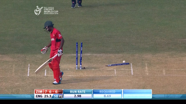 Zimbabwe Innings Wickets – ENG v ZIM