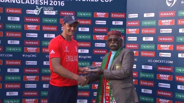 Man of the Match – Burnham – ENG v ZIM