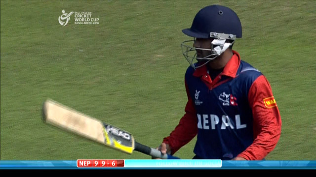 Airee Wicket – IND v NEP