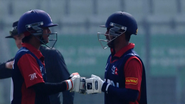 Nepal Innings Highlights v India