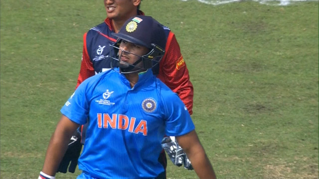 Rishabh Pant smashes massive 6 in 2nd over – IND v NEP