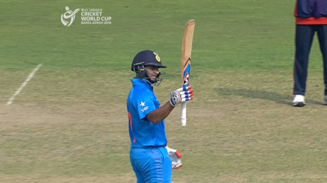 Pant smashes fastest 50 in U19CWC history – IND v NEP