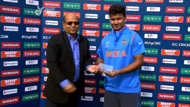 Man of the Match – Rishabh Pant – IND v NEP