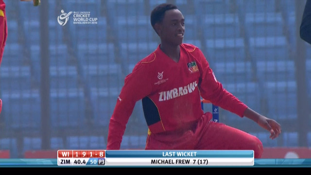 Magarira, 3-28 vs West Indies – WI v ZIM