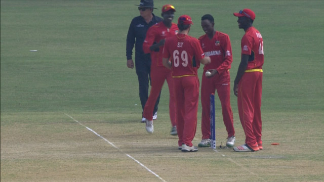 West Indies Innings Wickets – WI v ZIM
