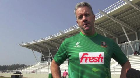 Stuart Law after Bangladesh top Group A