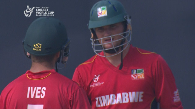 Zimbabwe Innings Highlights v West Indies
