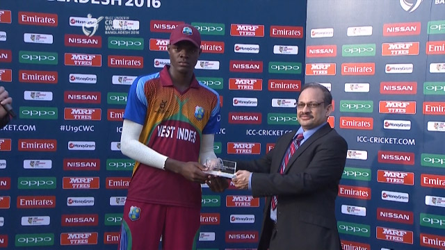Man of the Match – Alzarri Joseph – WI v ZIM