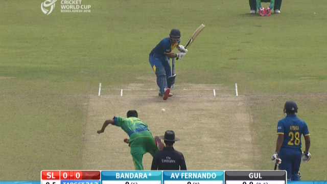 Sri Lanka Innings Super Shots – PAK v SL