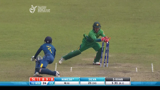 Sri Lanka Innings Wickets – PAK v SL