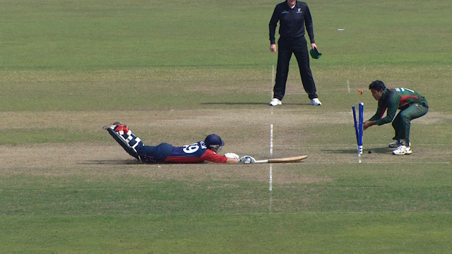 Nepal's troubles running between the wickets