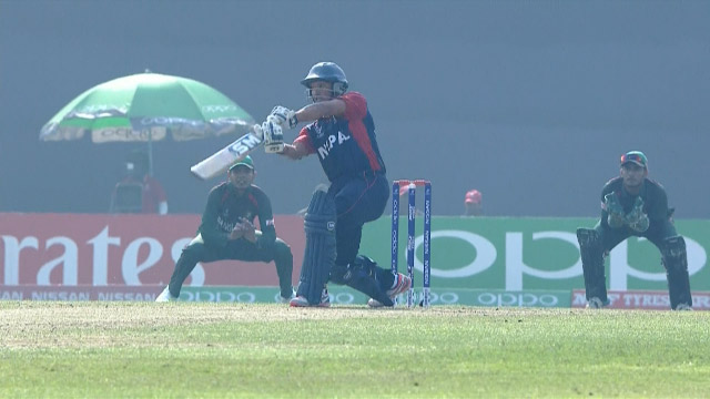 Nepal Innings Super Shots – BAN v NEP
