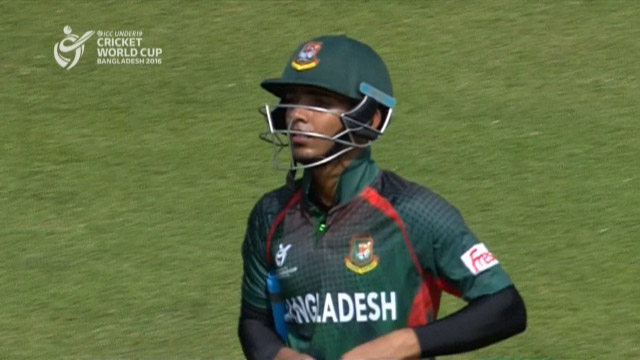 Hassan Wicket – BAN v NEP