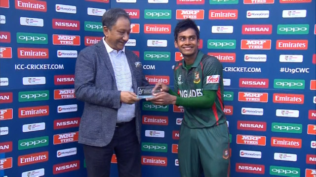 Man of the Match – Mehedi hassan – BAN v NEP