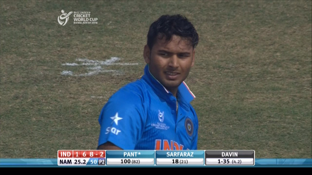 India Innings Highlights v Namibia