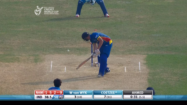 Namibia Innings Wickets – IND v NAM