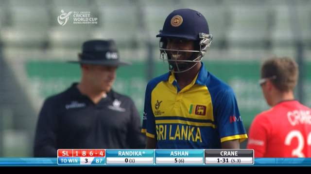 Match highlights – ENG v SL