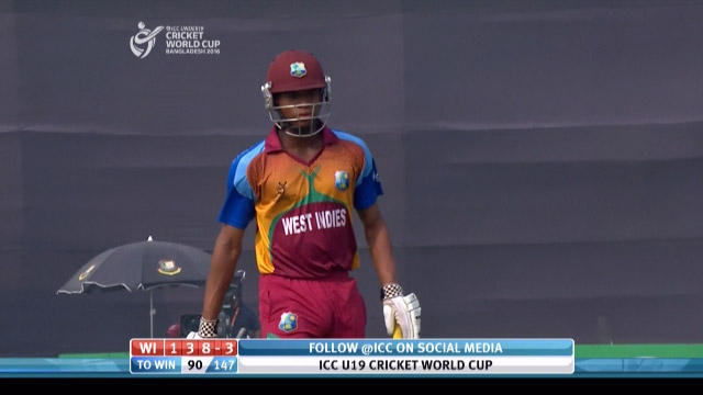 Carty Wicket – PAK v WI