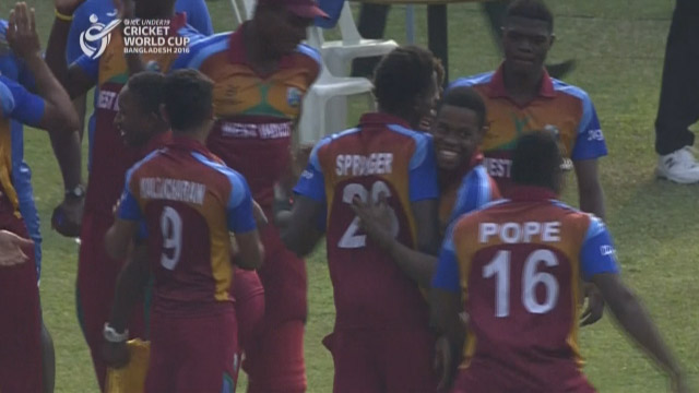 Match highlights – PAK v WI