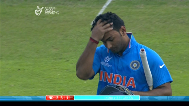 India Innings Wickets – IND v SL