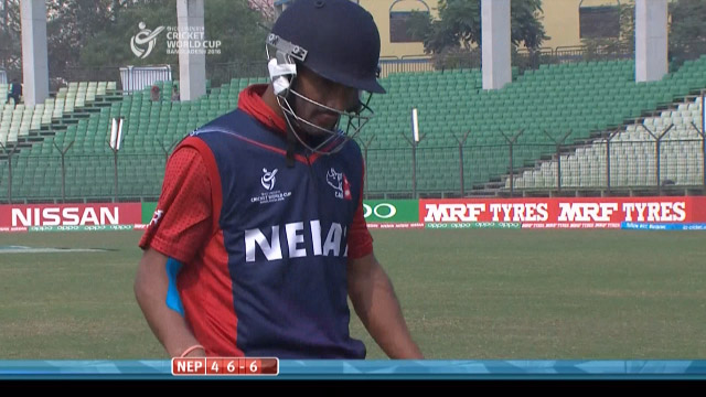 Airee Wicket – PAK v NEP