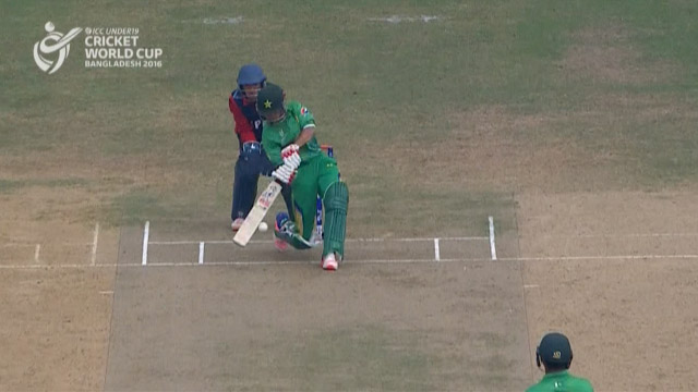 Pakistan Innings Super Shots – PAK v NEP