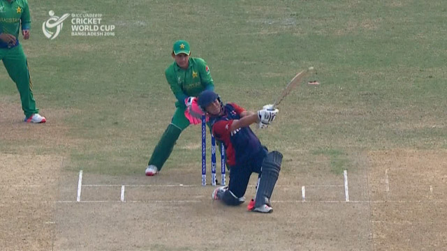 Nepal Innings Super Shots – PAK v NEP