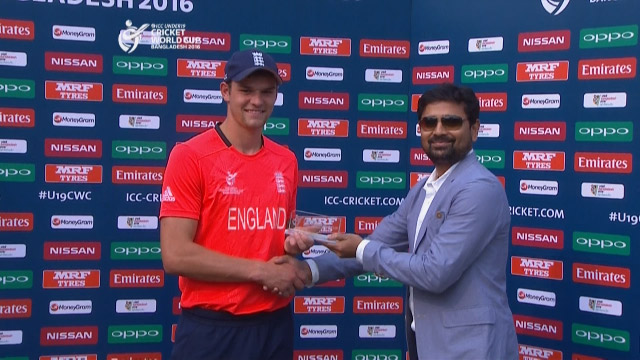 Man of the Match – Burnham – ENG v NAM