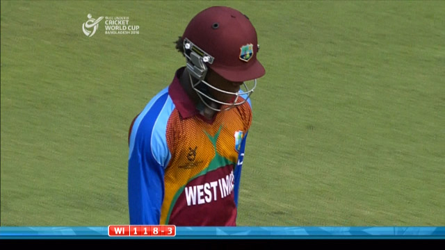 Carty Wicket – BAN v WI