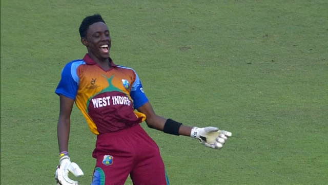 West Indies innings winning moment